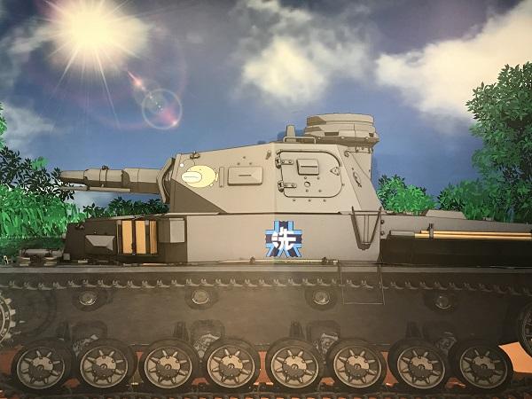 ガルパン博覧会 4号戦車
