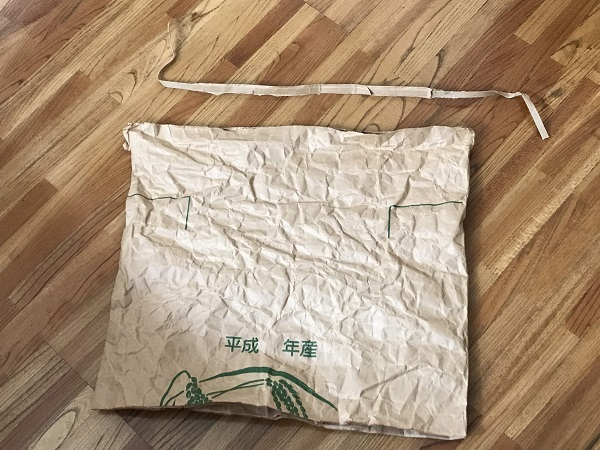 米袋バッグ 作成
