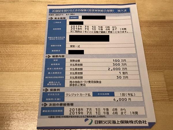 日新火災 火災保険