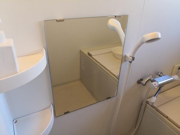 風呂場 鏡